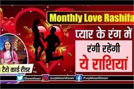 monthly love rashifal