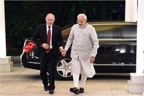 modi s putin showcased gandhi s favorite hymn song by russian artist