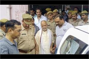 chinmayanand discharged from pgi sent to jail