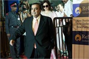 mukesh ambani is the richest person who has beaten jack ma