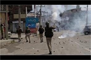 clashes in pulwama on dumping site