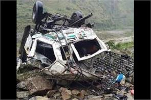 11 killed and 4 injured refer to jammu in ramban accident