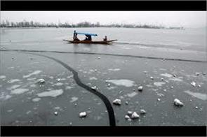 dont go in freezed dal lake said dc srinagar