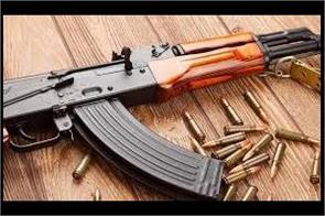 ak 47 rifle of pso stillen alert in kishtwar