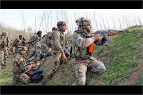 encounter starts in north kashmir