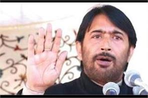 congress is alone enough for opportunist parties said mir
