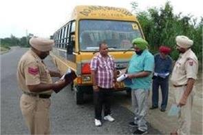 school childrens are suffered dur to action against school vans