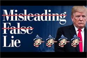 trump is a lie trunk washington post reveals