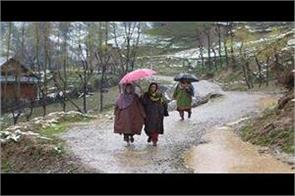 3 died in kashmir due to weather