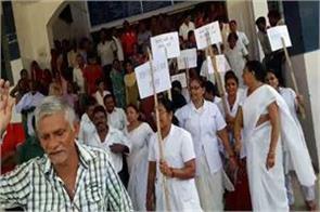 khagaria hospital staff on indefinitely strike poor patients getting sick
