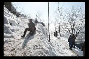 cold wave continue in kashmir