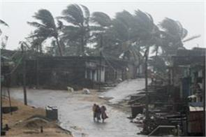 cyclone titli reached odisha