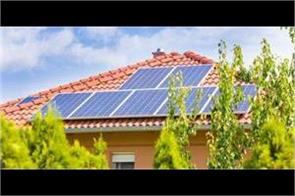 total capacity of solar power panels on roofs was 3 399 megawatts