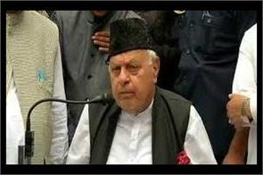 army can use water canon instead of bullets said farooq