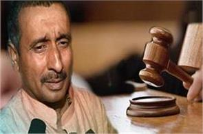 court to sentence kuldeep sengar convicted in murder case today