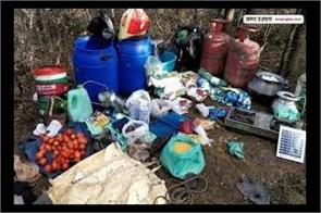 hideout busted in shopian