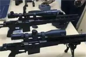 indian company made india s first indigenous sniper rifles
