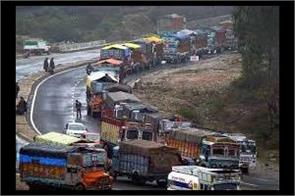 one way traffic open on jammu srinagar highway