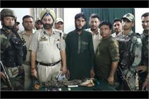 lashkar militant arrest in doda