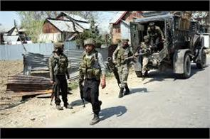 army man shot dead in pulwama village forces lunch searches