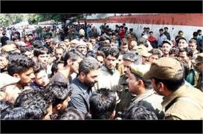 pro pakistan slogans raised in jammu clashes erupt between students