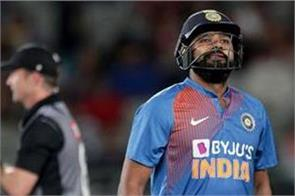 rohit sharma out of odi and test series due to injury