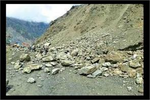 landslide hit van in reasi all passengers are safe