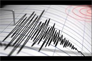 earthquake jolts srinagar again