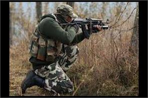 encounter in litter area of pulwama
