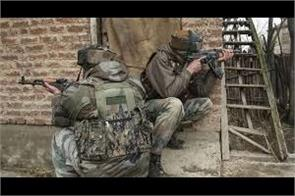 pulwama encounter between security forces and terrorists a terrorist pile