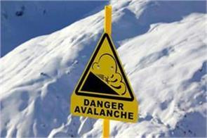 snow avlanche warning issued for jk