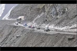 leh srinagar national highway close