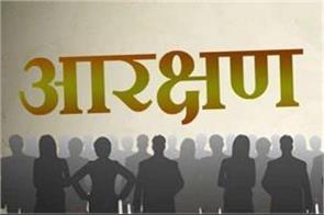 depressed sc castes 20 percent reservation in educational institutions