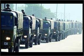 govt notifies days for movement of security forces convoy on nh