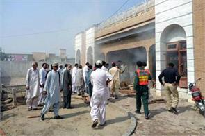pakistani mp s office in suicide attack killed seven