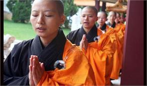 buddhist monk to experience the lives of working women in the forefront