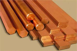 copper futures spurt on global cues