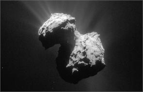 the first comet discovered oxygen