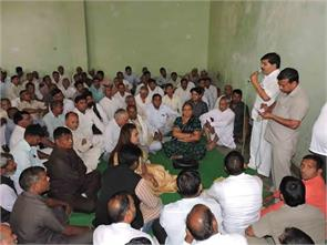 in the case of dalit mahapanchayat sunped climbed uproar visit