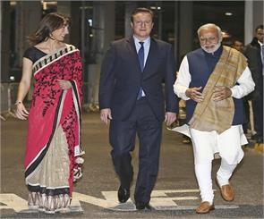 that day is not far when indian british britain s prime minister will cameron