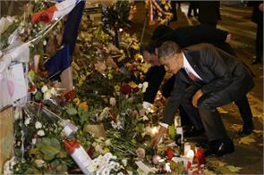 paris attack obama and hollande tribute to the victims