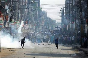 nepal two protesters killed in fresh clashes several injured