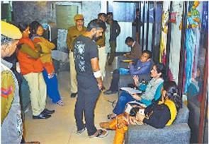 raid by drug controller team in panchkula