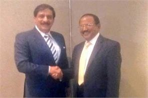met in bangkok to india pak nsa discussions on kashmir