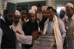 example muslim brothers ramlila committee and dm sp honored