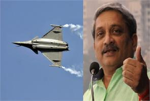 rafale jets may come to india earlier than expected manohar parrikar