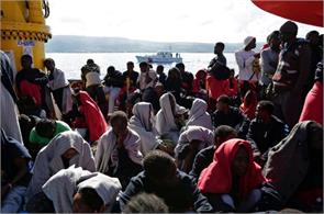 libya 14 drown 2400 migrants rescued in search and rescue