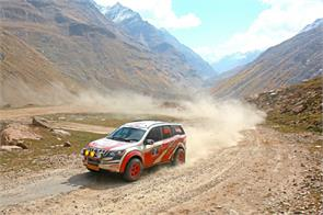 mountain 18th maruti suzuki raid de himalaya rally