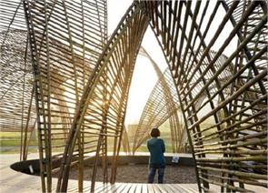 made of indian goods pavilion open in victoria garden