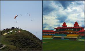 billing valley paragliding dharamshala cricket stadium